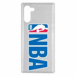 Чехол для Samsung Note 10 NBA Logo