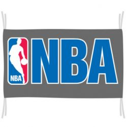 Флаг NBA Logo