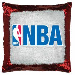 Подушка-хамелеон NBA Logo