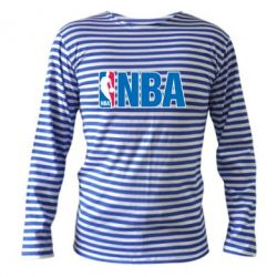 Тельняшка с длинным рукавом NBA Logo