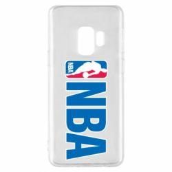 Чехол для Samsung S9 NBA Logo