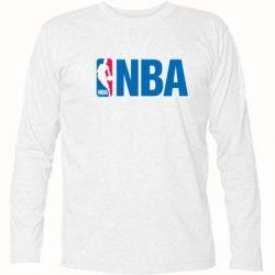 Футболка с длинным рукавом NBA Logo