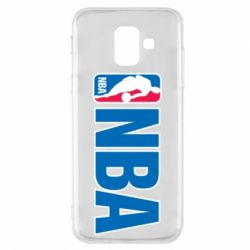 Чехол для Samsung A6 2018 NBA Logo