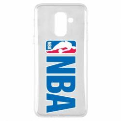Чехол для Samsung A6+ 2018 NBA Logo