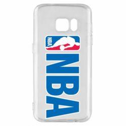 Чехол для Samsung S7 NBA Logo