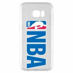 Чехол для Samsung S7 EDGE NBA Logo