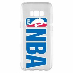 Чехол для Samsung S8+ NBA Logo