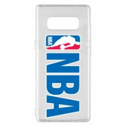 Чехол для Samsung Note 8 NBA Logo