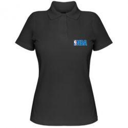 Женская футболка поло NBA Logo