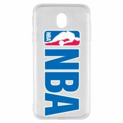 Чехол для Samsung J7 2017 NBA Logo