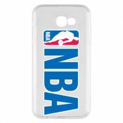 Чехол для Samsung A7 2017 NBA Logo