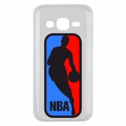 Чехол для Samsung J2 2015 NBA - FatLine