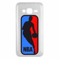 Чехол для Samsung J3 2016 NBA - FatLine