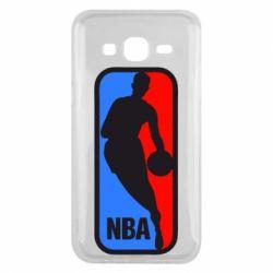 Чехол для Samsung J5 2015 NBA - FatLine