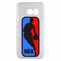 Чехол для Samsung S6 EDGE NBA - FatLine