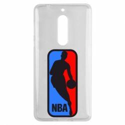 Чехол для Nokia 5 NBA - FatLine