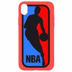 Чехол для iPhone XR NBA - FatLine