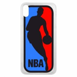 Чехол для iPhone Xs Max NBA - FatLine