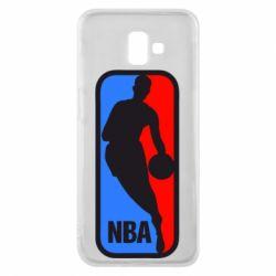 Чехол для Samsung J6 Plus 2018 NBA - FatLine