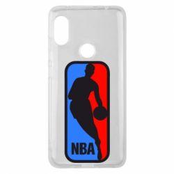 Чехол для Xiaomi Redmi Note 6 Pro NBA - FatLine