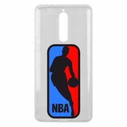 Чехол для Nokia 8 NBA - FatLine
