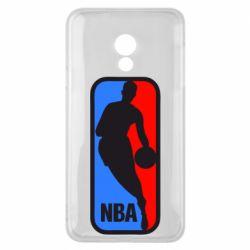 Чехол для Meizu 15 Lite NBA - FatLine
