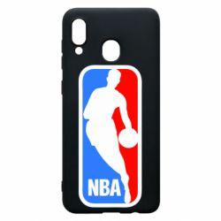 Чохол для Samsung A30 NBA