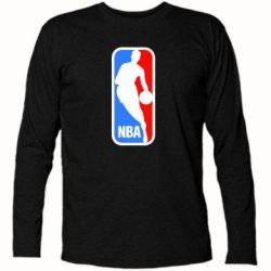 Футболка с длинным рукавом NBA - FatLine