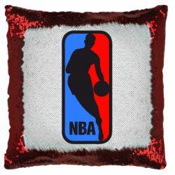 Подушка-хамелеон NBA