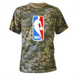 Камуфляжная футболка NBA - FatLine