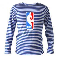 Тельняшка с длинным рукавом NBA - FatLine