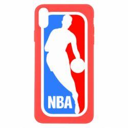 Чехол для iPhone X NBA - FatLine