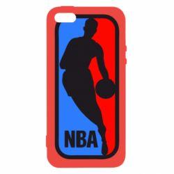 Чехол для iPhone5/5S/SE NBA - FatLine