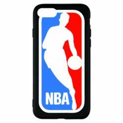 Чехол для iPhone 7 NBA - FatLine