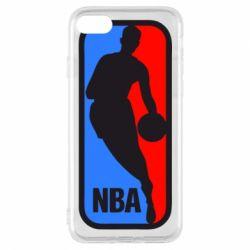 Чехол для iPhone 8 NBA - FatLine