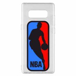 Чехол для Samsung Note 8 NBA - FatLine