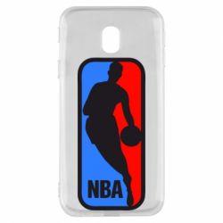 Чехол для Samsung J3 2017 NBA - FatLine