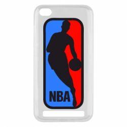 Чехол для Xiaomi Redmi 5a NBA - FatLine