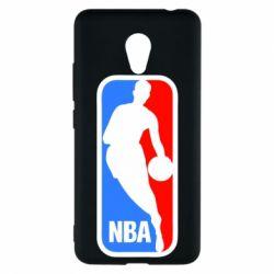 Чехол для Meizu M5c NBA - FatLine