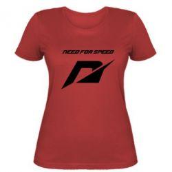 Женская футболка Need For Speed Logo