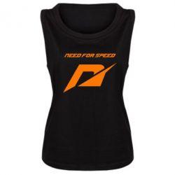 Женская майка Need For Speed Logo