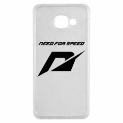 Чехол для Samsung A3 2016 Need For Speed Logo