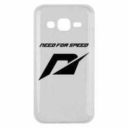 Чехол для Samsung J2 2015 Need For Speed Logo