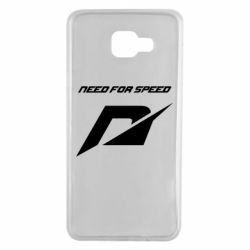 Чехол для Samsung A7 2016 Need For Speed Logo