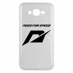 Чехол для Samsung J7 2015 Need For Speed Logo