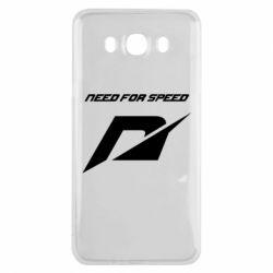 Чехол для Samsung J7 2016 Need For Speed Logo