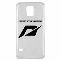 Чехол для Samsung S5 Need For Speed Logo