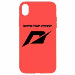 Чехол для iPhone XR Need For Speed Logo