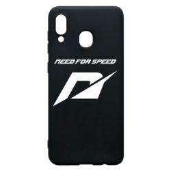 Чехол для Samsung A20 Need For Speed Logo