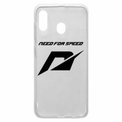 Чехол для Samsung A30 Need For Speed Logo